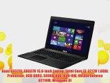 Asus X552CL-SX037H 15.6-inch Laptop (Intel Core i3-3217U 1.8GHz Processor 6GB DDR3 500GB HDD