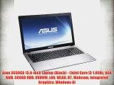 Asus X550CA 15.6-inch Laptop (Black) - (Intel Core i5 1.8GHz 6GB RAM 500GB HDD DVDRW LAN WLAN