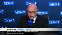"""Cazeneuve : """"cinq attentats ont été déjoués"""" depuis un an"""