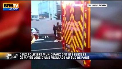 Des images filmées juste après la fusillade de Montrouge