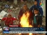 Palestina: declaran emergencia en Gaza y Cisjordania por tormentas