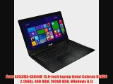 Asus X553MA-XX044H 15.6-inch Laptop (Intel Celeron N2830 2.16GHz 4GB RAM 700GB HDD Windows