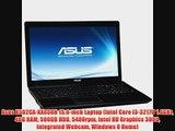 Asus X502CA-XX038H 15.6-inch Laptop (Intel Core i3-3217U 1.4GHz 4GB RAM 500GB HDD 5400rpm Intel