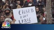 Paris Solidarity with Charlie Hebdo Victims | Charlie Hebdo Reaction | CNBC International