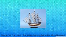 "USS Constitution Limited 7"" Model Tall Ship - Wooden Model Ship - War of 1812 - Already Built - Tall Model Ship - Sold Fully Assembled - Not a Model Ship Kit Review"