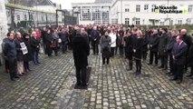VIDEO. Charlie Hebbo : préfecture de Loir-et-Cher et conseil général unis pour rendre hommage aux victimes