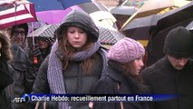Charlie Hebdo: deuil national en France