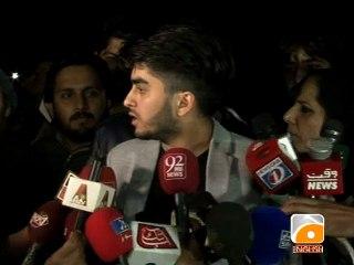 Reham Khan's nephew speaks to media