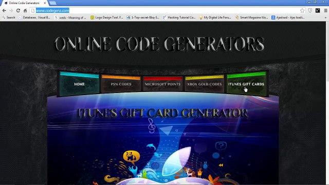 generateur carte cadeau itunes en ligne 2015   itunes carte cadeau gratuite
