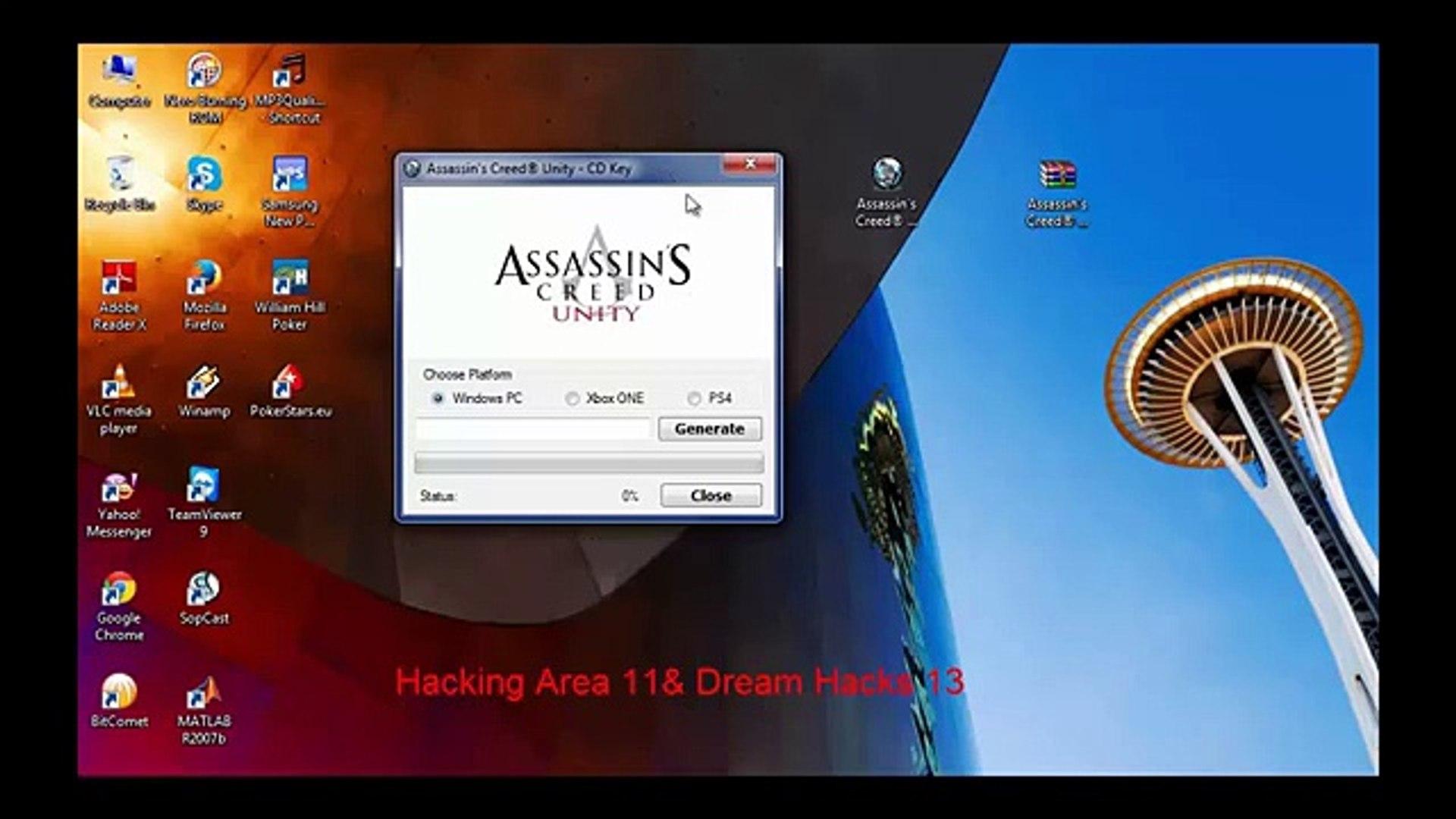 Assassins Creed Unity - CD Key Generator New Update