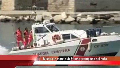 CRONACA - Sub 51enne scomparso nel nulla, mistero in mare