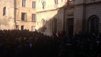 Arles : 2000 lycéens solidaires de Charlie Hebdo