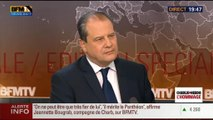 """Attentat contre Charlie Hebdo: """"Vient qui veut et qui se sent concerné à la marche républicaine de dimanche"""", Jean-Christophe Cambadélis (3/3) - 08/01"""