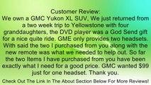 2 GM Headphones & Remote for Chevrolet Suburban, GMC Yukon, Cadillac Escalade, Uplander, Tahoe, Acadia, Buick Enclave, Pontiac Montana SV6, Terraza, Saturn Relay, Equinox, Silverado, Outlook, Traverse, Denali & More! (sku 192) Review