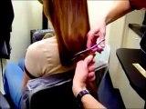 Beautiful Hair Cutting - Long hair cutting hair cut videos - Long haircut video