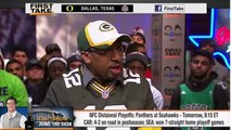 ESPN First Take - Carolina Panthers vs Seattle Seahawks - Tim Tebow Joins The Desk - First Take