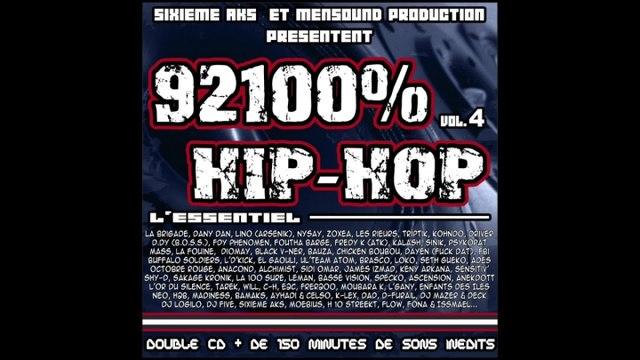 Mass Ft. Anacond & Alchimist - 100% hip-hop