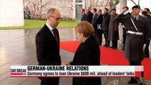 Germany agrees to loan Ukraine $600 mil. ahead of leaders' talks