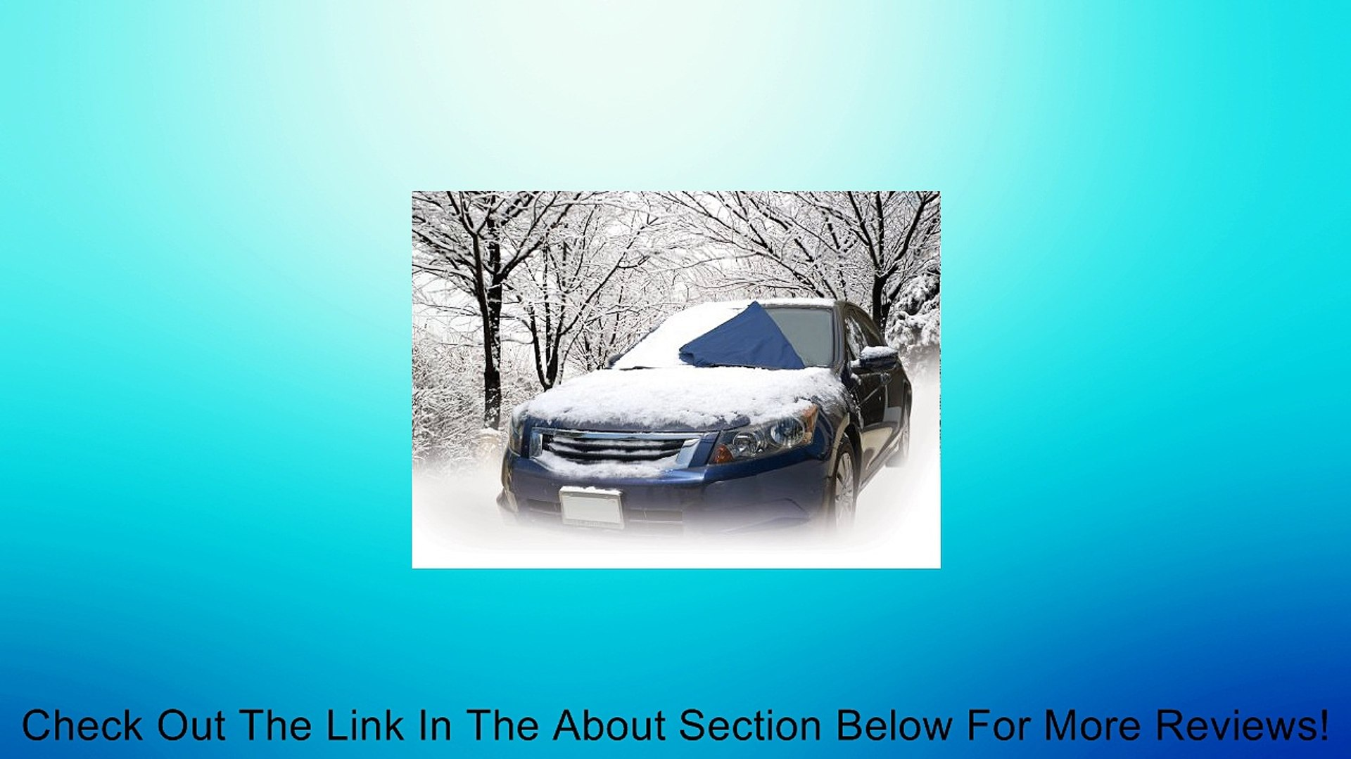 Auto Expressions 5079019 Winter Warrior Windshield Snow Cover