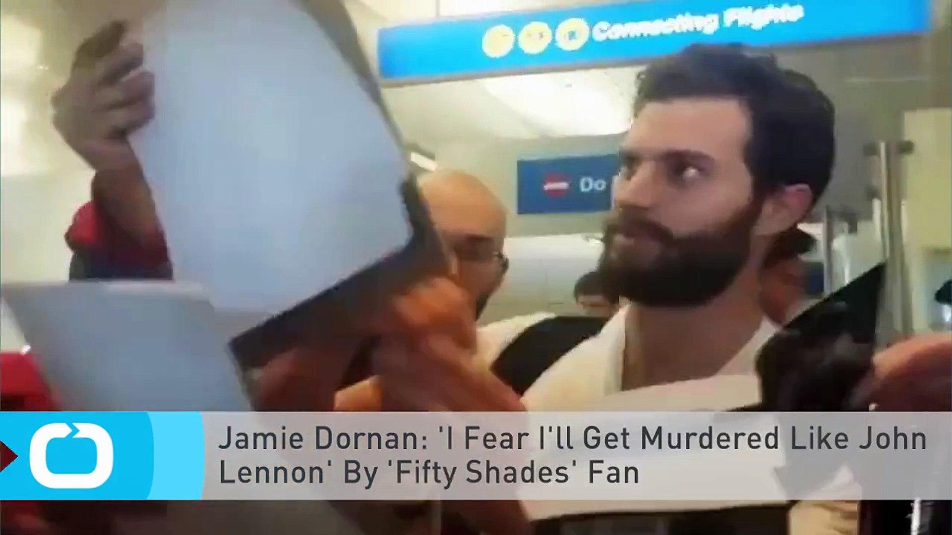 Jamie Dornan: 'I Fear I'll Get Murdered Like John Lennon' By 'Fifty Shades'