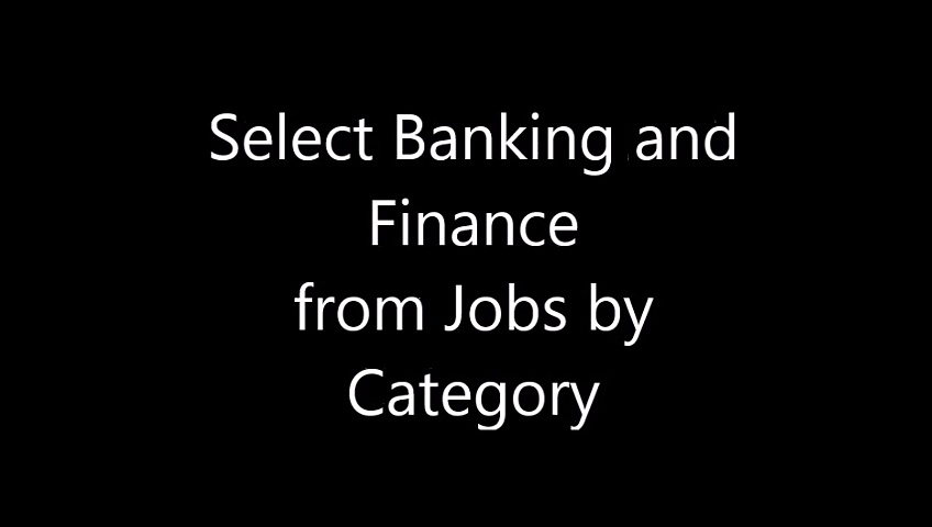 Banking and Finance Jobs in Pakistan [dutyjob.com]