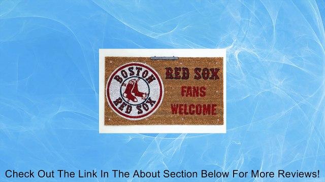 MLB Lighted Coir Mat MLB Team: Boston Red Sox Review