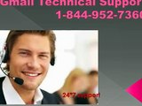 1-844-952-7360|Gmail customer support phone number|Gmail Customer Service