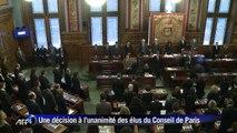 Charlie Hebdo fait citoyen d'honneur de la ville de Paris