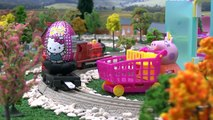 Peppa Pig Shopkins Surprises Play Doh Kinder Surprise Eggs Toys Frozen Lion King Thomas Hello Kitty