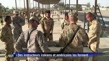 Irak: des soldats américains forment les nouvelles recrues