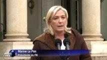 """Marine Le Pen : """"Je ne vais pas là où on ne veut pas de moi"""""""