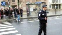Prise d'otages Porte de Vincennes: Les images du périmètre de sécurité