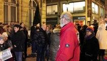 Cambrai - Rassemblement en hommage à Charlie Hebdo