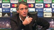 Mancini Champions League campaign 'finished'