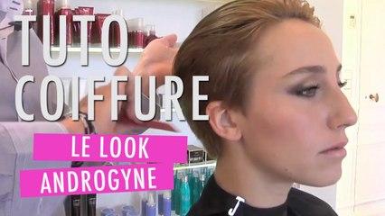 Une coiffure masculine pour femme - Tuto Coiffure
