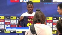 'Barcelona are like Steven Segal' - new Barca signing Alex Song unveiled
