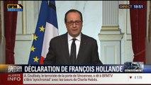 Assauts à la porte de Vincennes et à Dammartin-en-Goële (6/11): La déclaration de François Hollande - 09/01