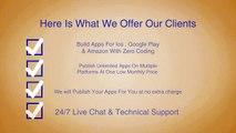 Build Mobile Apps With Zero Coding Skills