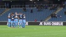 """""""Je suis Charlie"""" : la minute de silence du Stade Océane"""