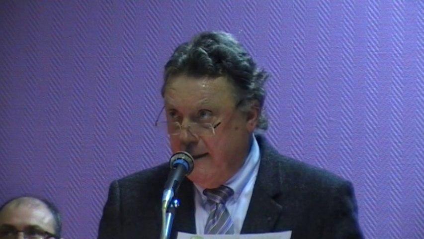 Voeux de Jean Pierre Porte, maire de Javerlhac et la Chapelle Saint-Robert