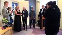 Eerste huwelijk in nieuwe gemeente Nissewaard / Spijkenisse - Nissewaard 2015