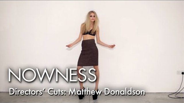 """Director's Cuts: Cara Delevingne in """"Cara"""" by Matthew Donaldson"""
