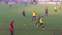 Na volta de Tite, Corinthians treina forte esquema tático nos EUA