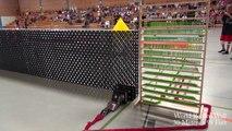 128.000 Domino taşı ile muhteşem bir gösteri ( En Büyük Domino Duvarı )