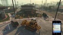 Bulldozer, Cavalcade and Firetrucks
