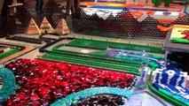 285.000 Domino taşı ile muhteşem bir gösteri
