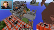 Minecraft Funny Moments, Hilarious TNT Minigame! (Minecraft TNT Wars) w/ Lachlan & The Pack
