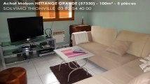 A vendre - maison - HETTANGE GRANDE (57330) - 5 pièces - 100m²