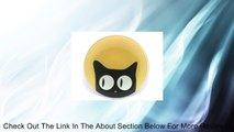 Cat Eyes Glass Plate Gold Looking Sideways Review