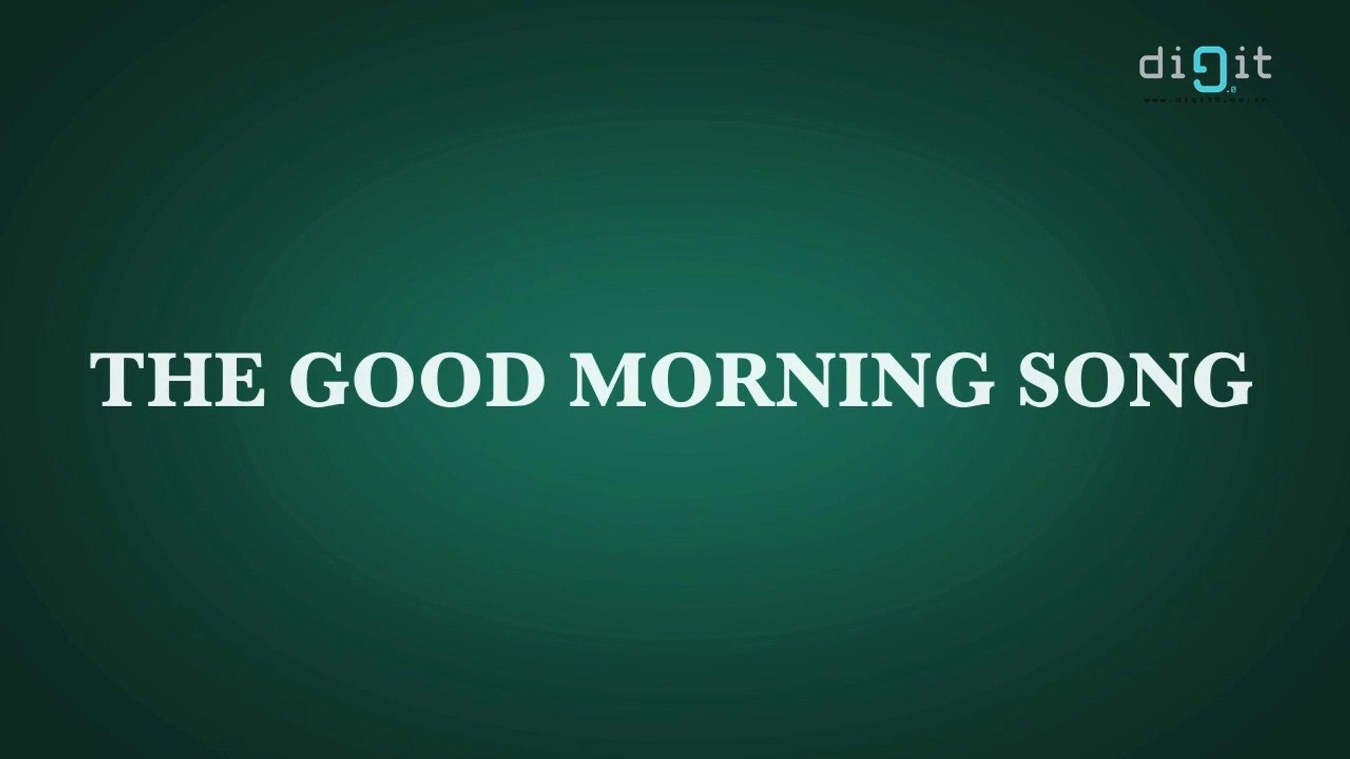 Good Morning Song - Nursery Rhyme - Kids Animation